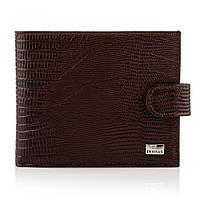 Мужской кошелек портмоне кожаный Desisan t080/3 темно-коричневый