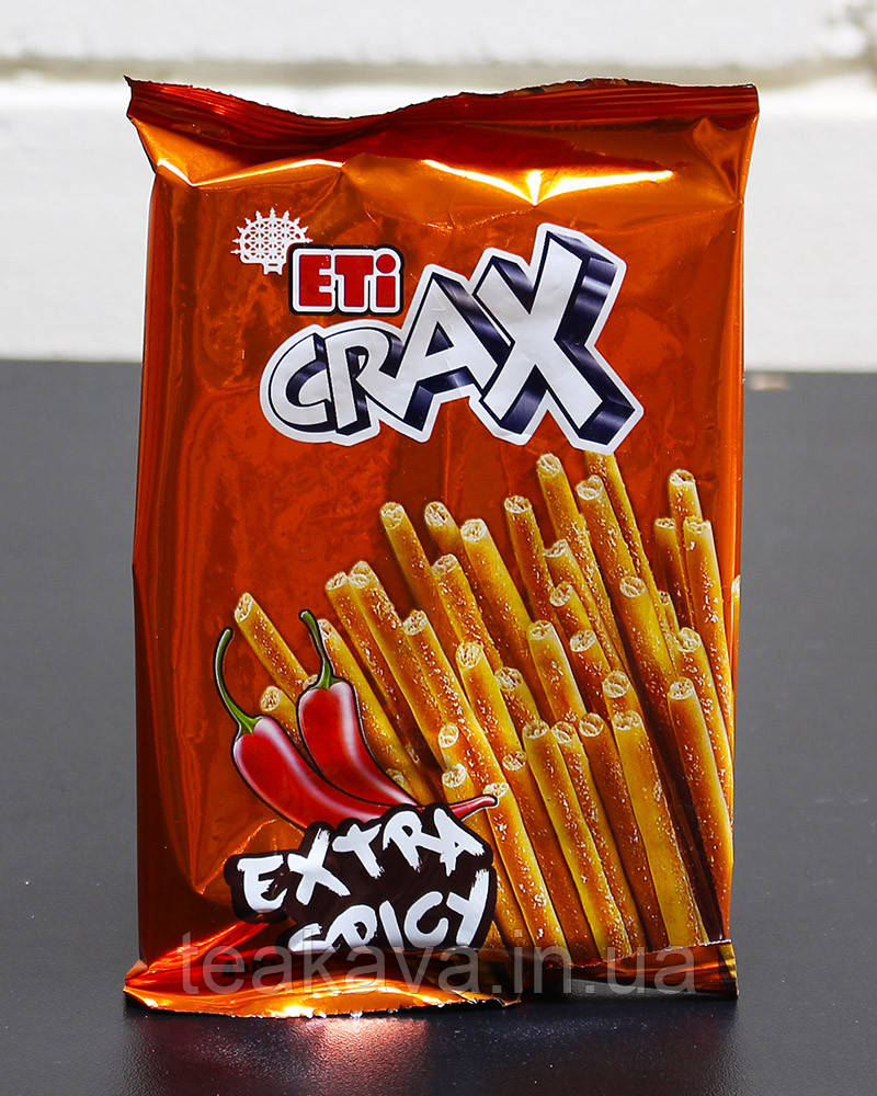 Соломка острая ETI CRAX Extra Spicy, 45 г