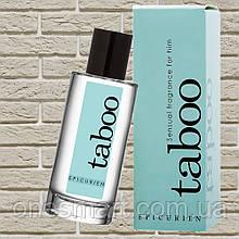 """Туалетна вода з феромонами для чоловіків """"TABOO EPICURIEN"""" від RUF, 50 мл (Франція)"""