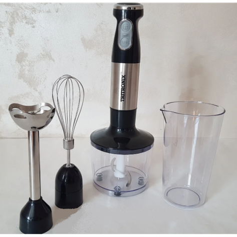 Ручной Блендер погружной Tritronix   кухонный многофункциональный 4в1 на 1000 Вт, фото 2