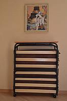 """Раскладушка """"Венеция Люкс"""" раскладушка кровать на ламелях с матрасом"""