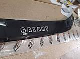 Mitsubishi Galant Дефлектор капота мухобойка на для MITSUBISHI Митсубиси Galant 1997-2003, фото 3