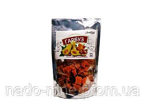 Перекус из вяленой тыквы со вкусом клубники 100 гр.