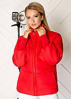 Куртка жіноча червона