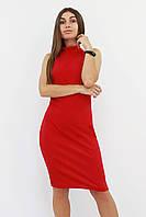 S, M, L | Коктейльне жіноче плаття Golden, червоний