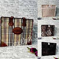 Сумка хозяйственная фешн  №2 40 x 45 x 18 см (уп-12 шт), фото 1