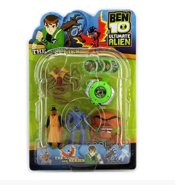 Игровой набор Бен 10 супергерои,, часы Омнитрикс - Ben 10, Superhero, Omnitrix, Bandai