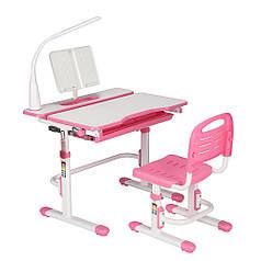 Эргономический комплект Cubby парта и стул-трансформеры Botero Pink