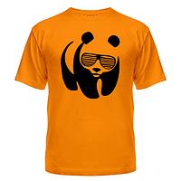 Футболка Панда в очках жалюзи