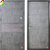Двері металеві Zimen Тіра Темний Мармур/Шале Графіт для квартири, для офісу