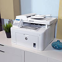 МФУ лазерный принтер HP LaserJet Pro M227fdn черно-белая печать