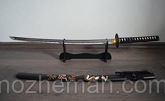 Японский самурайский меч Катана (Воин 3), солидный подарок мужчине