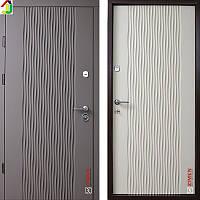 Двері металеві Zimen Wawe Сілк Куантро/Сілк Тірамісу для квартири, для офісу