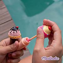 Бальзам для губ детский Martinelia мороженое кокос (шоколад, черника, ваниль) (1099C), фото 4