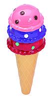 Бальзам для губ детский Martinelia мороженое кокос (шоколад, черника, ваниль) (1099C), фото 6