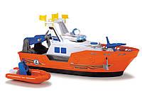 Катер Dickie Toys Спасательный с лодкой со звуковыми и световыми эффектами 40 см (1137005), фото 1