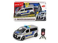 Автомобиль Dickie Toys SOS. Полиция Ситроен с радаром со звуковыми и свет эффектами 15 см (3713010), фото 1