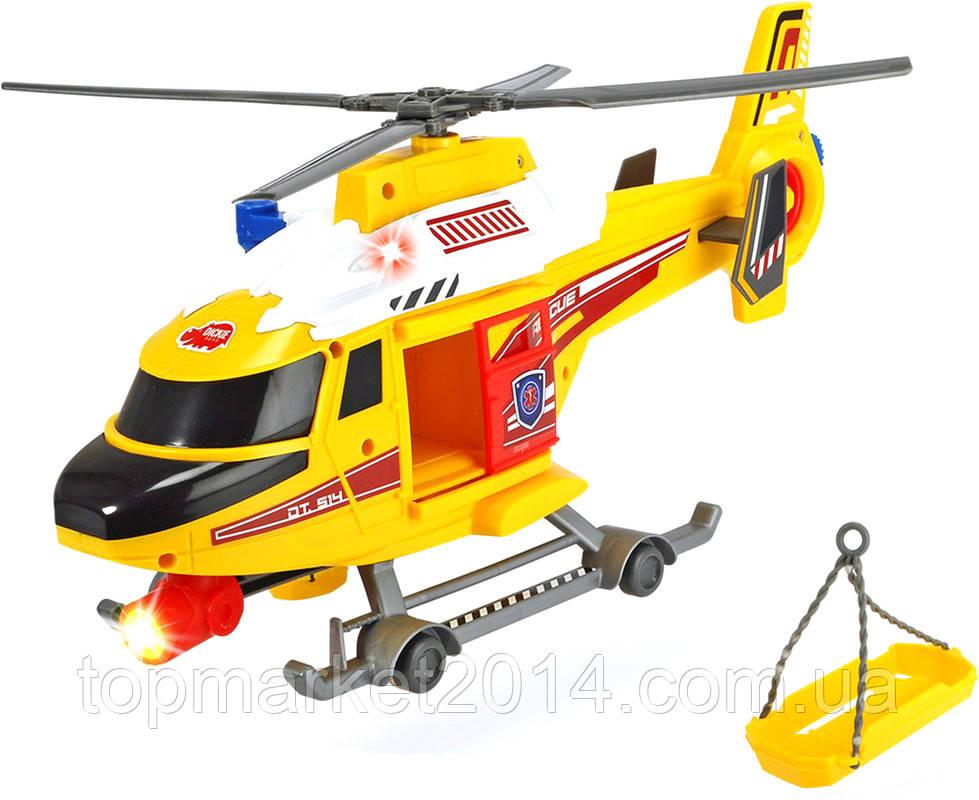 Вертолет Dickie Toys Воздушная полиция с носилками (1137003)