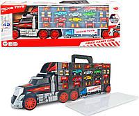 Игровой набор Dickie Toys Трейлер перевозчик авто (3749023), фото 1