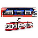 Трамвай Dickie Toys Сити Лайнер 46 см синий  (3749017), фото 3