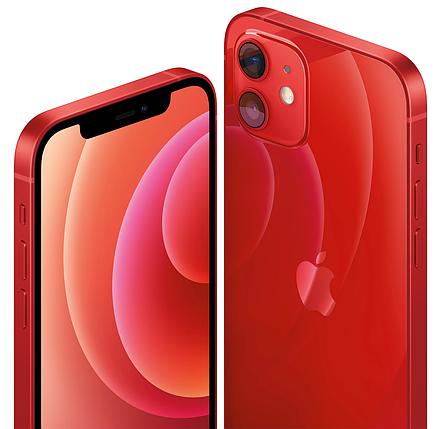 Смартфон Apple iPhone 12 128GB PRODUCT Red (MGJD3), фото 2