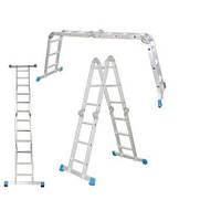 Шарнирная лестница Werk LC2416 (4х4)