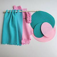 Набор текстиля в кукольный домик NestWood Люкс Мини (Барби), фото 1