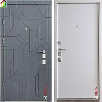 Двері металеві Zimen Alcor Графіт Матовий/Сілк Зефір для квартири, для офісу