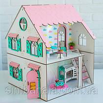 """Двухсторонний кукольный домик для LOL NestWood """"СКАЗОЧНЫЙ"""""""