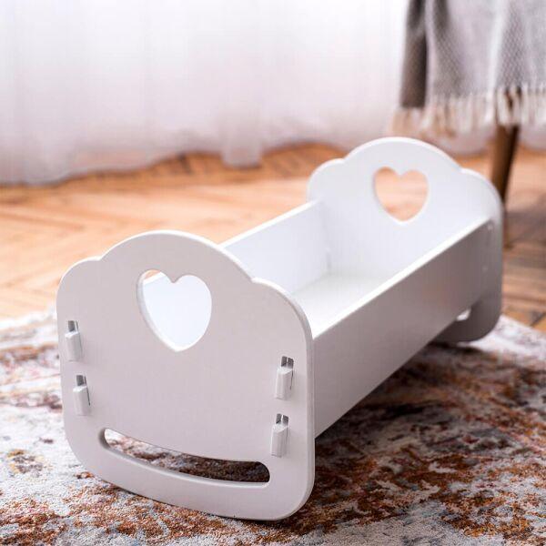 Деревянная кроватка-люлька  для Беби Борна