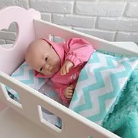 """Постільна білизна для іграшкових ліжечок """"Соня"""", фото 1"""