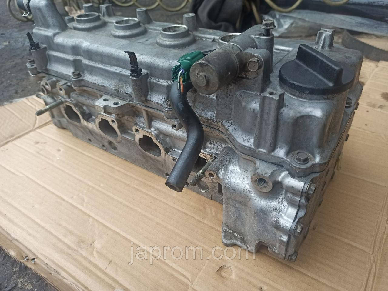 Головка блока цилиндров (ГБЦ) Nissan Аlmera N16 Classic B10 Primera P12 QG16 QG18 1,6 1,8 бензин
