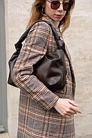 Жіноча сумка Саміра екошкіра 32*20*13 см шоколадний