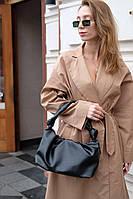 Жіноча сумка Саміра екошкіра 32*20*13 см чорний