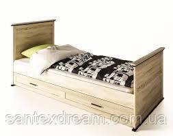 Палермо кровать 1-сп (без матраса, без каркаса)