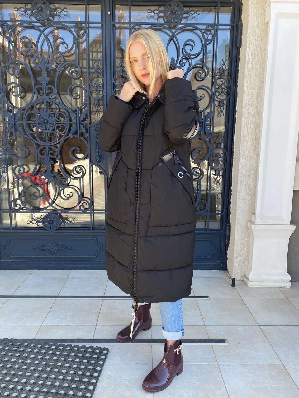 Куртка женская зимняя на холлофайбере OUISIHAN