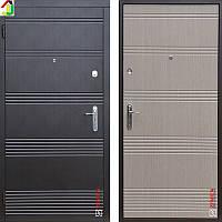 Двері металеві Zimen Vanessa K-2 Венге Темний/Венге Світлий для квартири, для офісу
