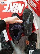 """Зимние кроссовки на меху Nike Air Max Uptеmp BLACK Matt Winter """"Черные"""", фото 3"""