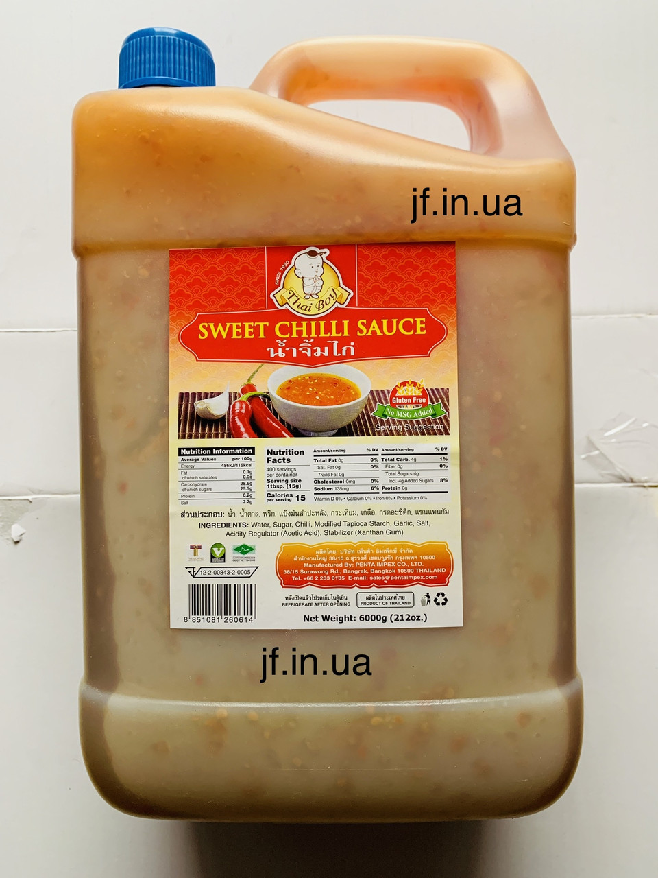 Соус Sweet Chilli, 6л