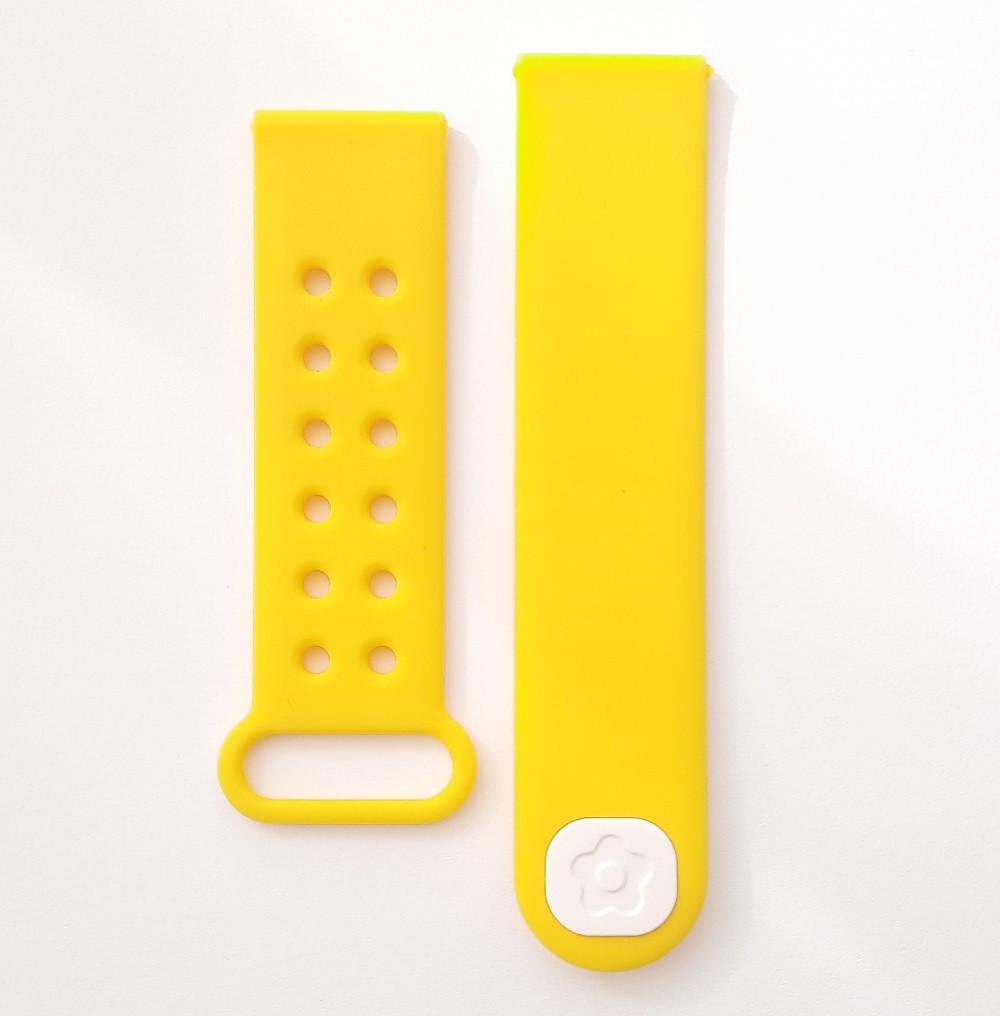 Ремешок для детских часов Smart baby Q200 / G1000 Желтый