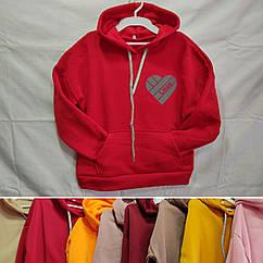 Худі для дівчинки світловідбивач like & insta BA0569, oversize 140-158р (10-14р.)
