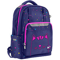 """Рюкзак шкільний YES Т-89 """"Cats"""" для дівчаток 10-13 років, фото 1"""
