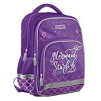 Рюкзак школьный для девочки 10-13 лет SMART SM-04 Mermaid