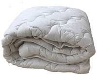 Теплое одеяло двуспальное евро 200х210 (иск.лебяжий пух/хлопок) (3273), фото 1