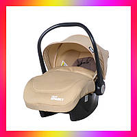 Детское автокресло для новорожденных Автолюлька группа 0+ (0-13 кг) TILLY Sparky T-511 Бежевый