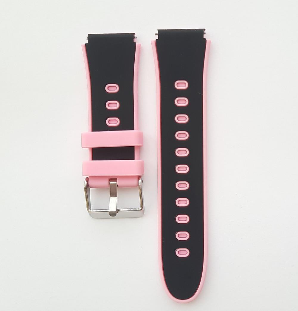 Ремешок для детских часов Smart baby HW11 / DF50 Черно-розовый