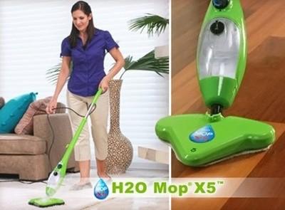 Паровая швабра H2O mop X5 - швабра для уборки