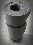 Килимок туристичний, сірий, т. 10 мм, розмір 60х180 см, виробник Україна, TERMOIZOL®, фото 3