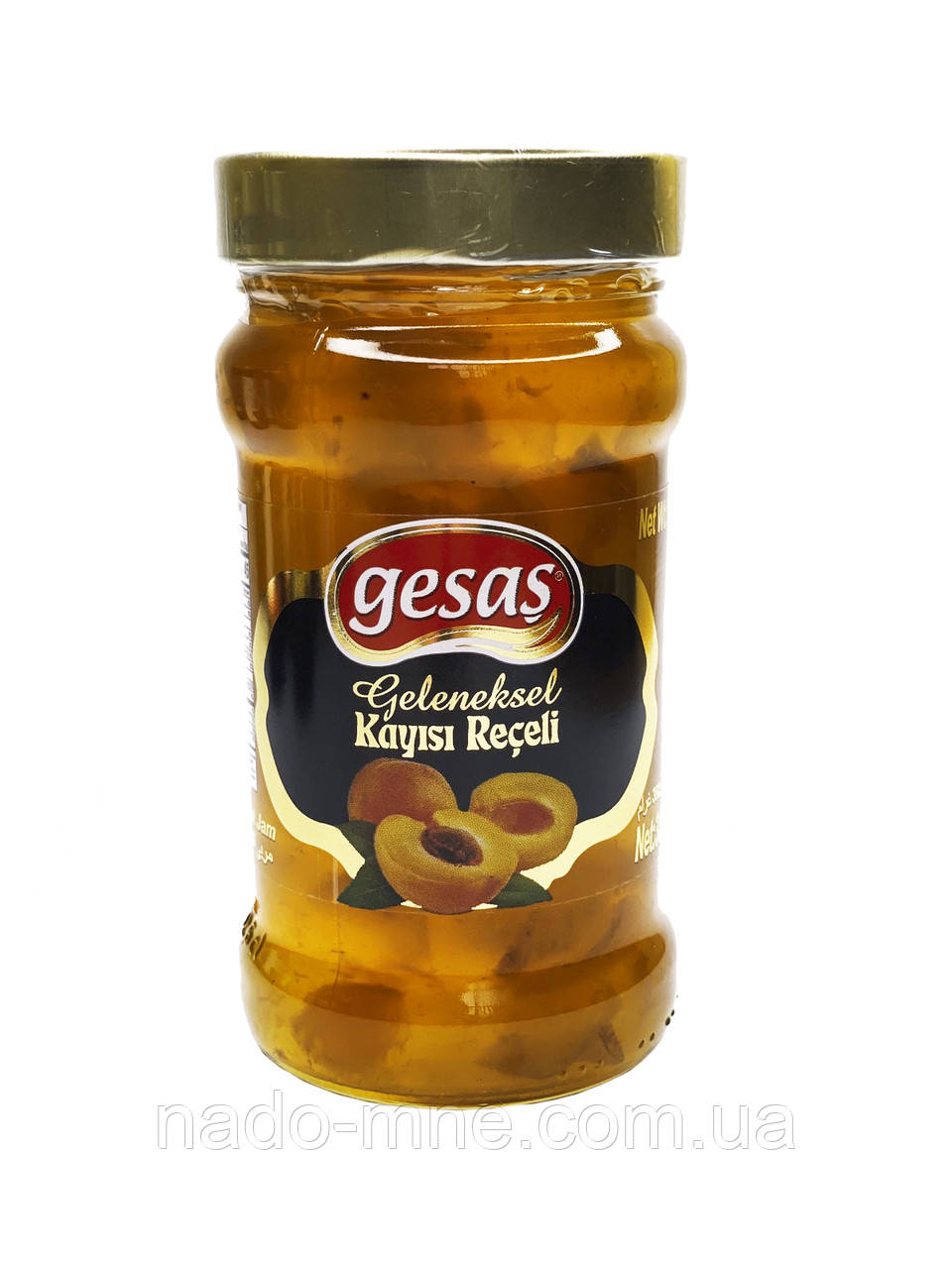 Абрикосовый джем Gesas, Турция 380 гр.