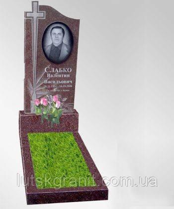 Виготовлення пам'ятників із капустянського граніту Луцьк